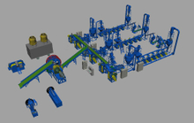 Waste Tire Recycling Plant (TR)